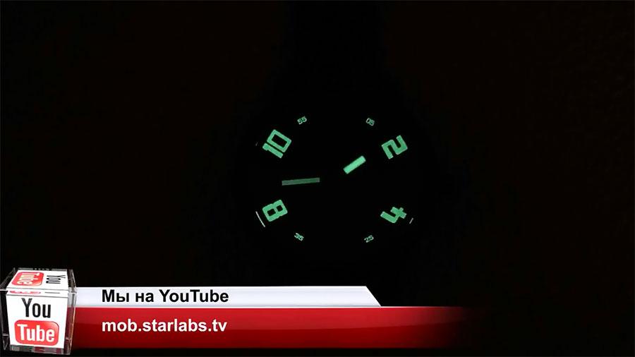 Ночная подсветка циферблата Lenovo Watch X