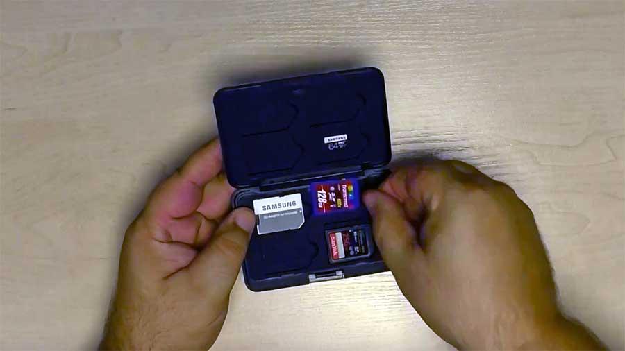 Кейс для хранения карт памяти