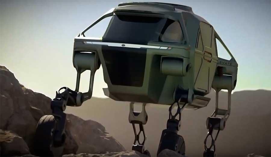 шагающий транспорт Hyundai Elevate