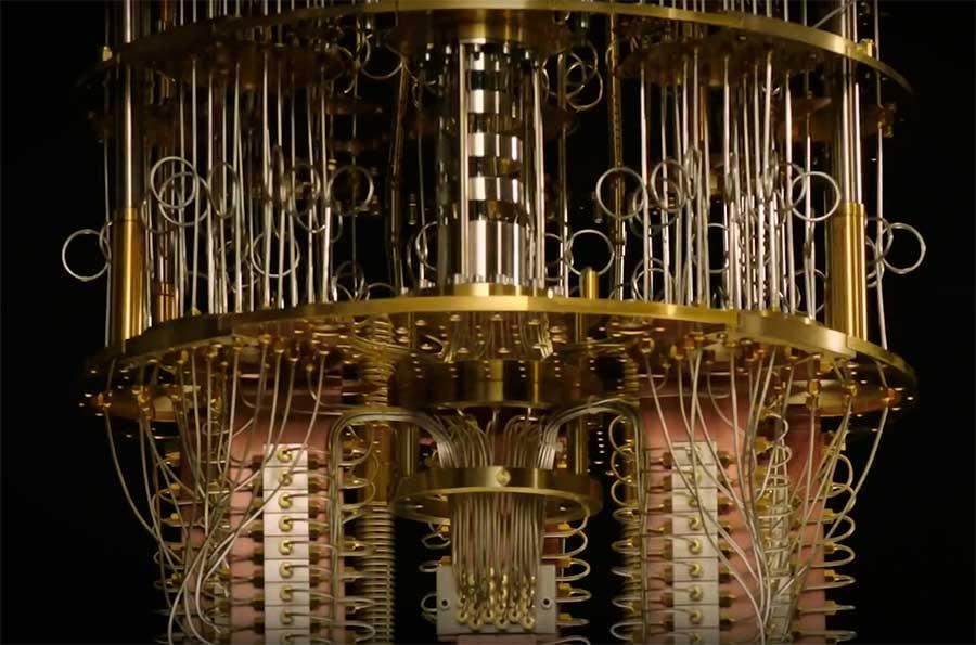 квантовый компьютер IBM Q System One