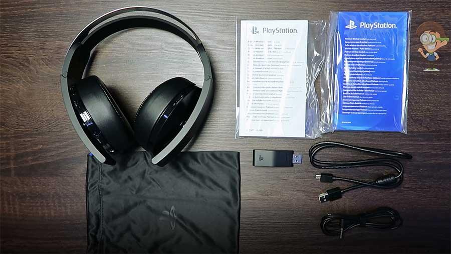 Наушники Sony Platinum для PlayStation