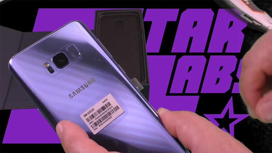 Распаковка Samsung Galaxy S8+