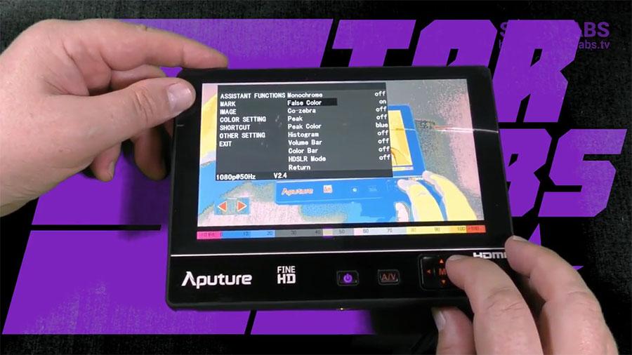 Aputure VS 2 FineHD KIT настройка
