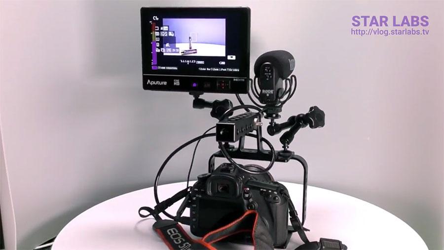 Aputure VS 2 FineHD KIT на камере