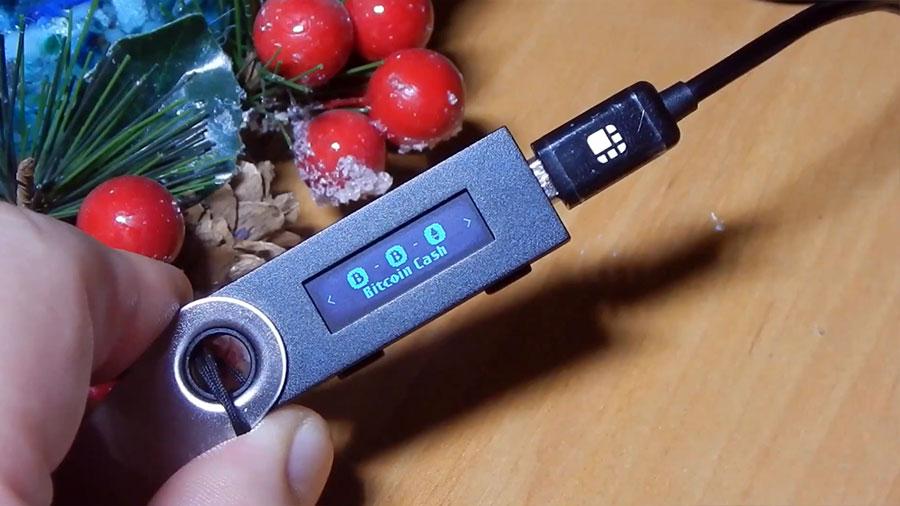 Ledger Nano S выбор кошелька