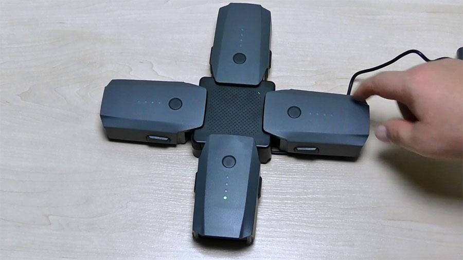 DJI Mavic Pro зарядная станция на 4 батареи