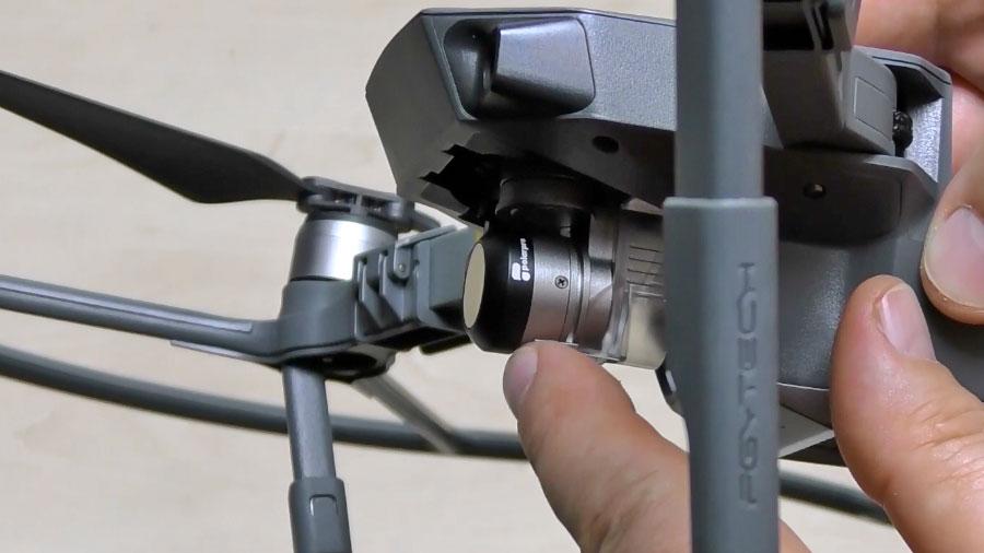 DJI Mavic Pro светофильтры для камеры