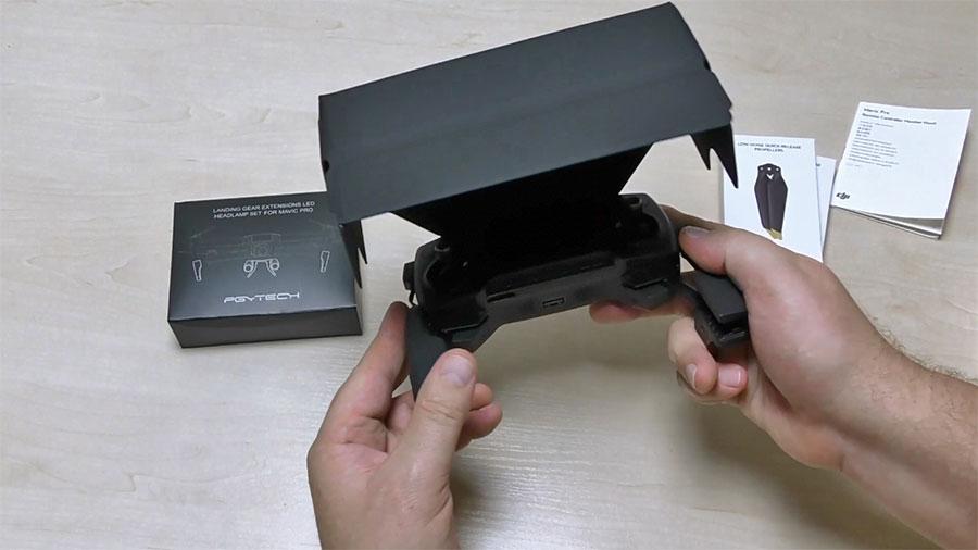 Защитный экран пульта управления DJI Mavic Pro
