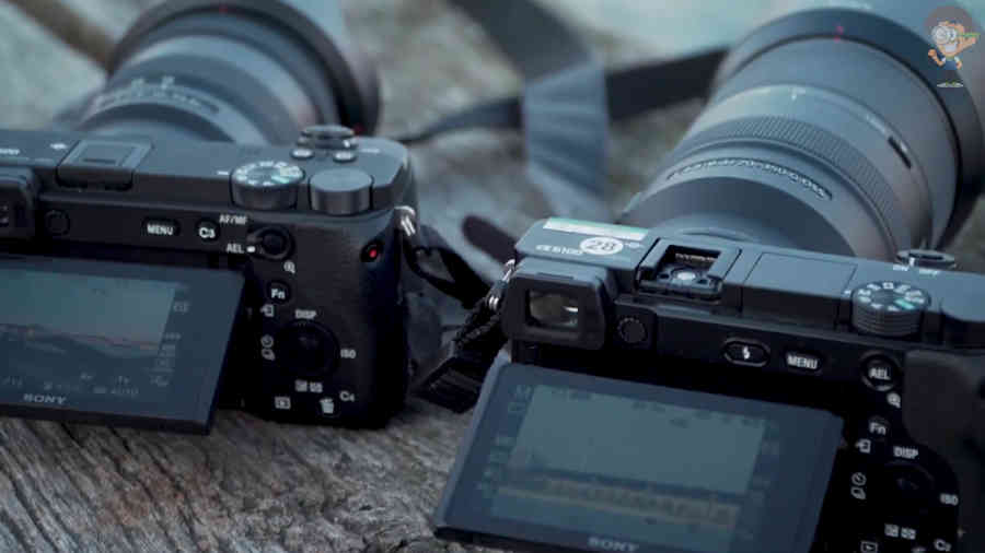 Sony a6600 и a6100