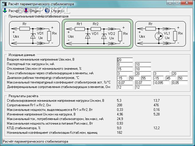 Parametric stabilizer