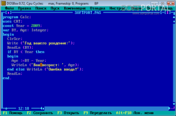 Turbo pascal for windows 7 the world-standard pascal compiler.