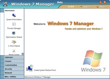 Windows manager