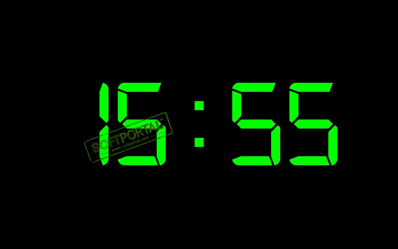 Цифровые часы на компьютер скачать бесплатно