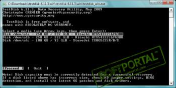 Инструкция Testdisk Photorec 7.0 - фото 5
