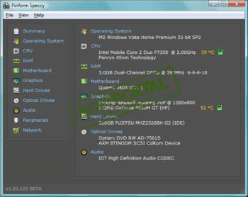 Скачать бесплатно программу для просмотра температуры процессора