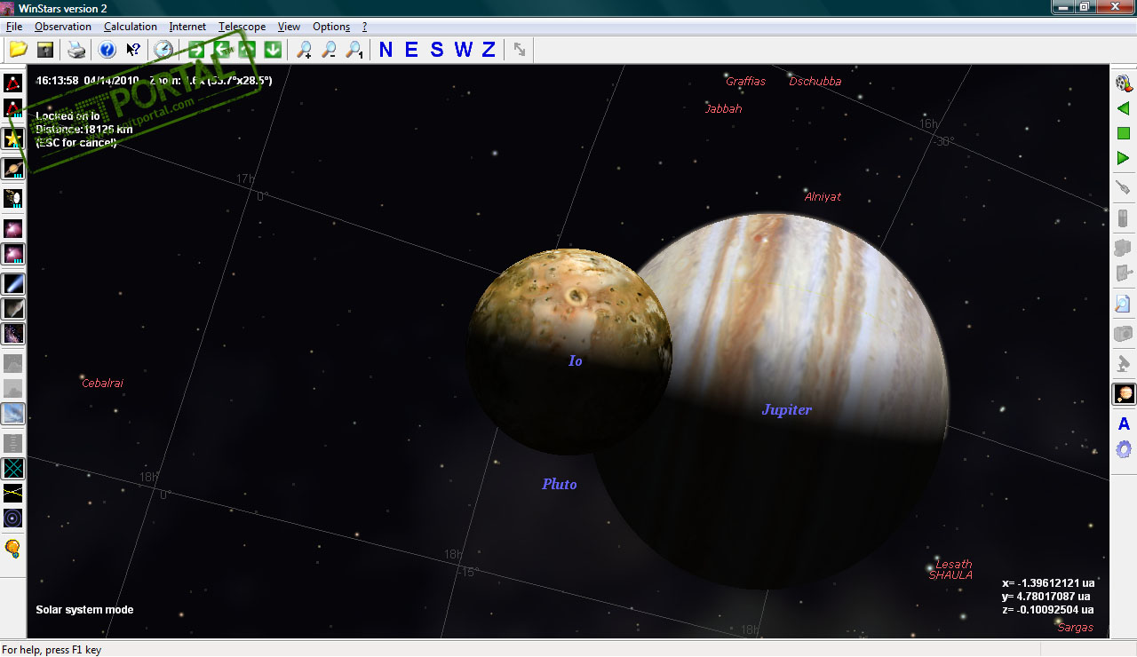 Подвижная карта звездного неба  Астрономия в
