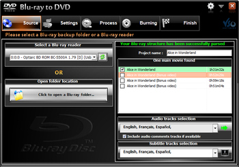 Blu-ray to DVD converter 4.0.0.92