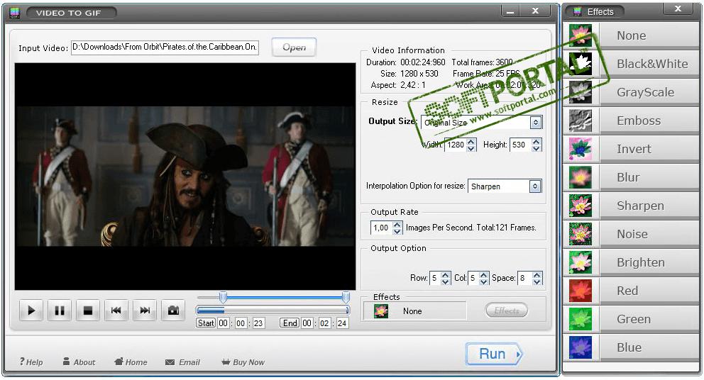 программа для преобразования gif в видео