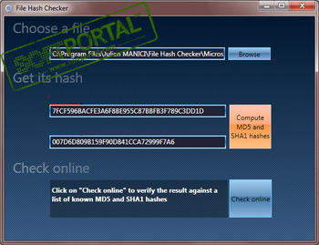 Hash Tool - Calculate File Hashes - DigitalVolcano