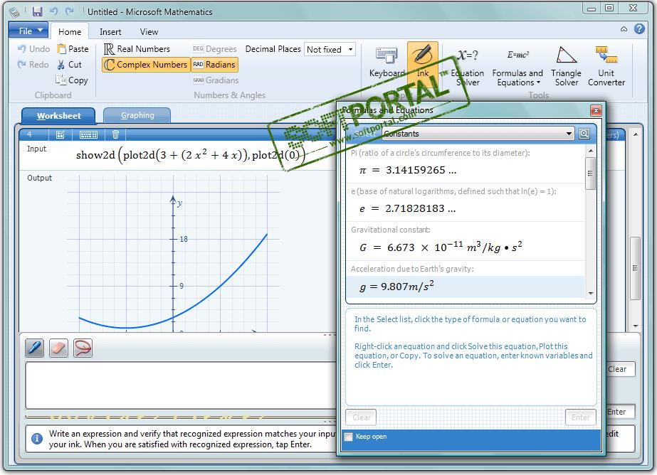 Microsoft mathematics 4.0 rus
