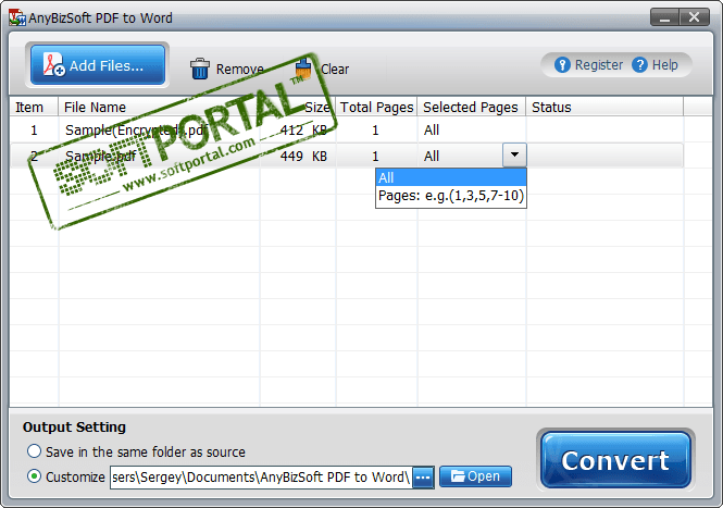 AnyBizSoft PDF to Word Converter