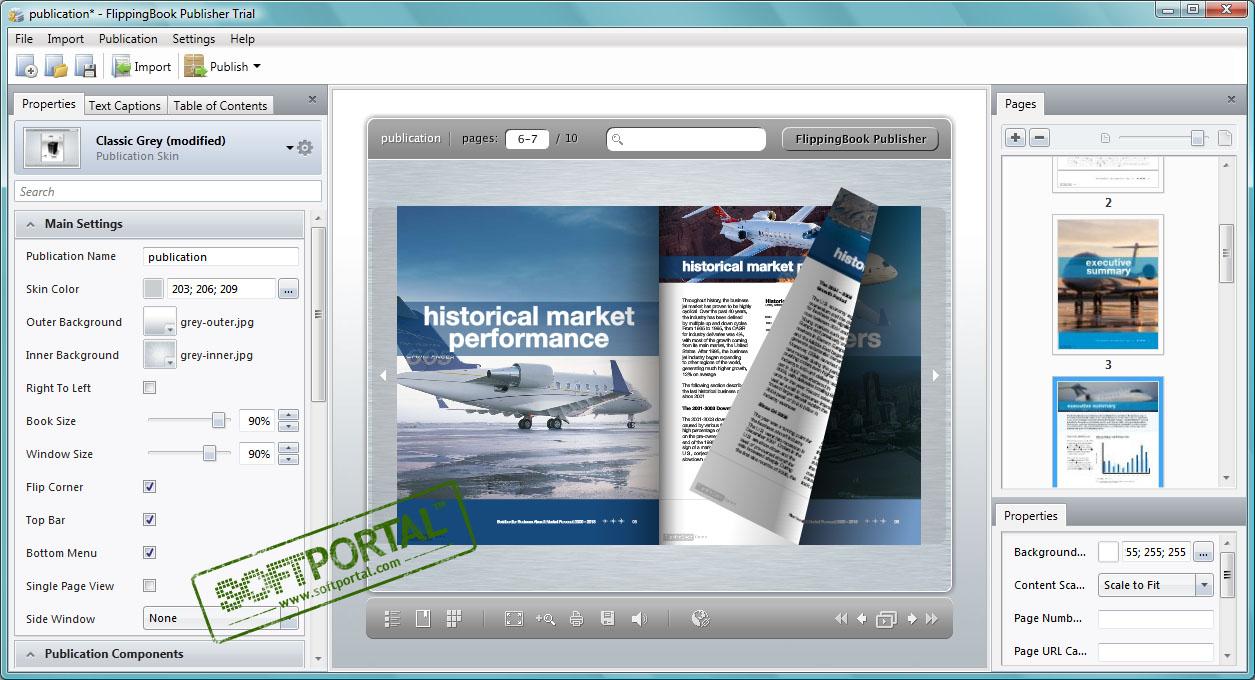 Flippingbook pdf publisher скачать бесплатно