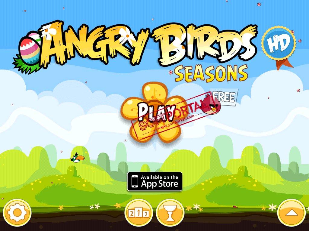 Angry birds seasons hd - фото 2