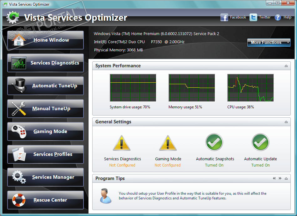 скачать vista services optimizer rus