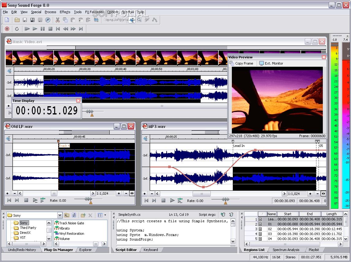 SonyMedia SoundForge 8.