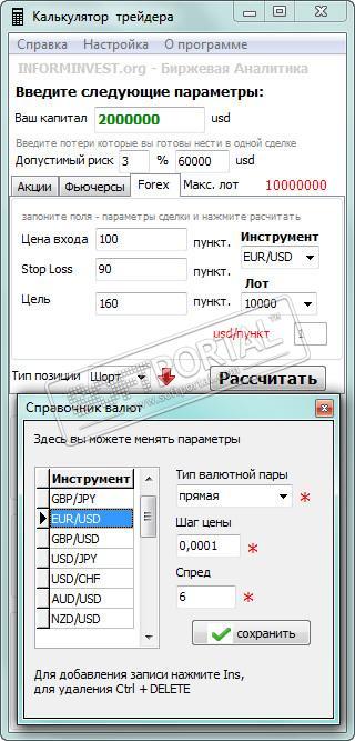 Скачати калькулятор доходности на форекс альпари форекс авточартист