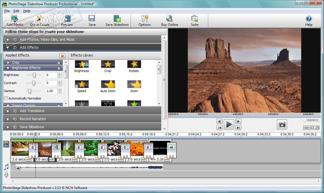 Скачать программу sensme slideshow