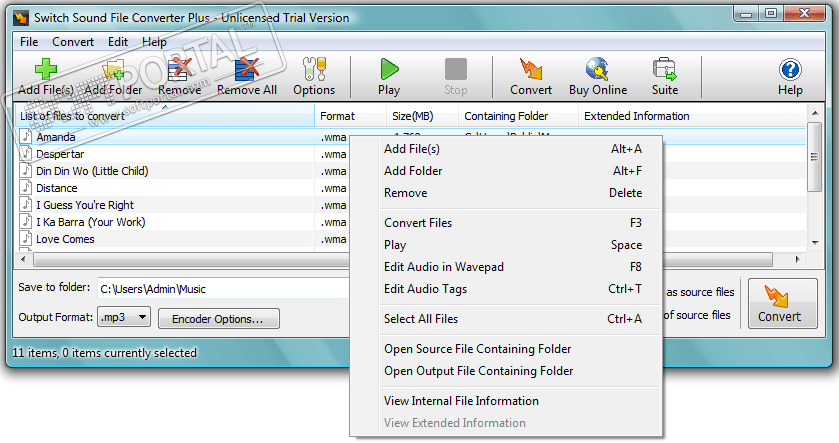 switch sound file converter plus registration code