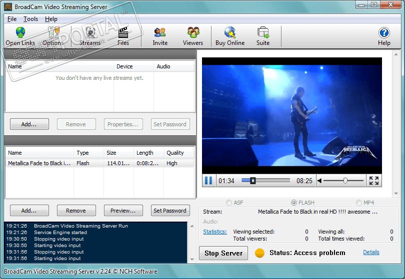 Сервер скачать видео