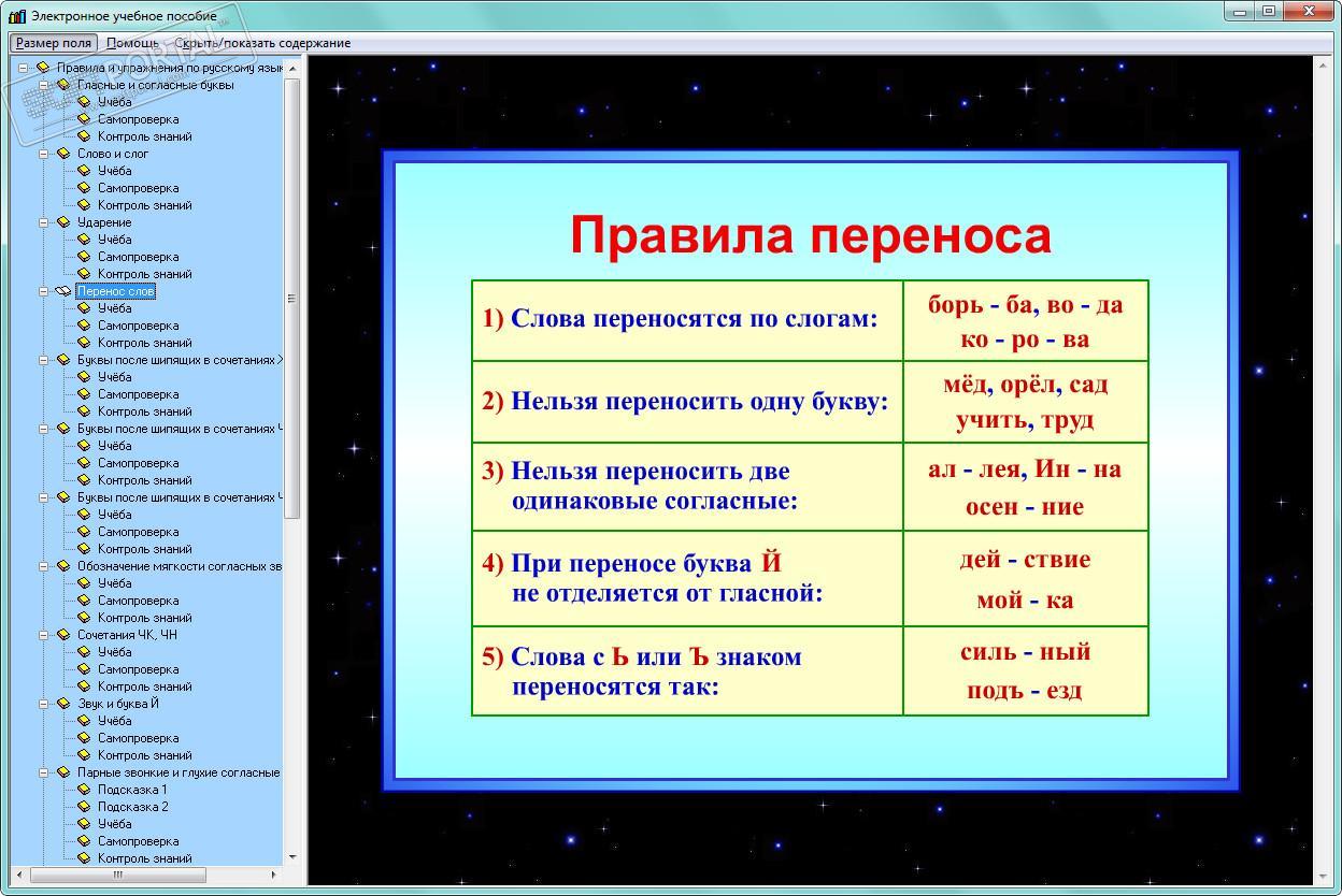 картинки все правила русского языка