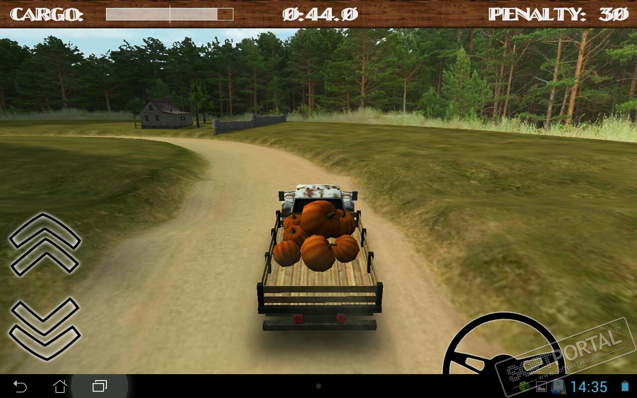 Dirt Road Trucker 3D 1.6.1 для Android