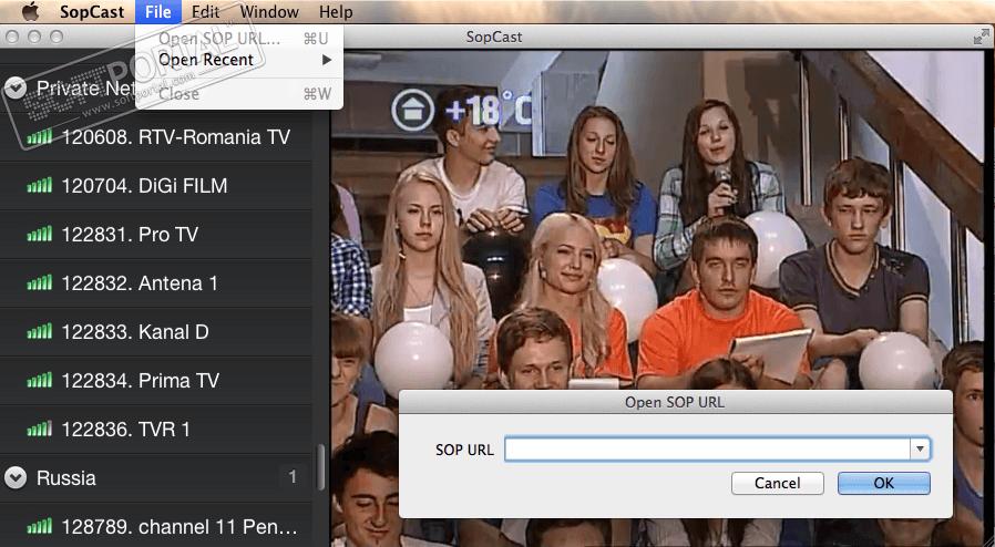 sopcast on apple tv