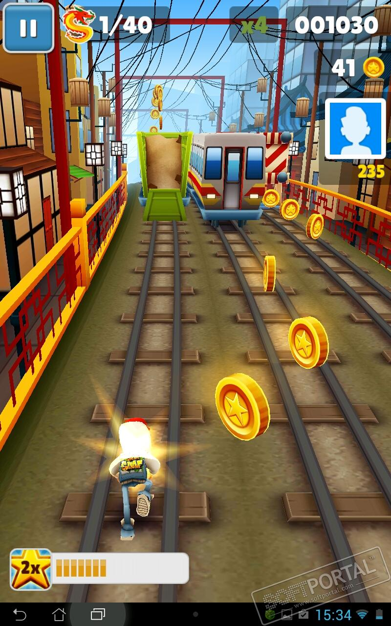 Игра Subway Surfers - YouTube