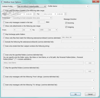 OutlookAttachView 3.16