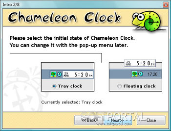 Chameleon Clock - скачать бесплатно Chameleon Clock 5.1