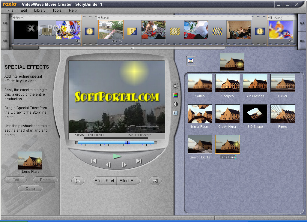roxio videowave movie creator