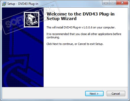 DVD43 Plug-in