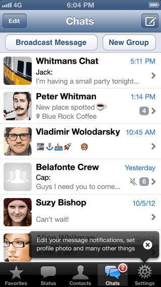 Приложение для iphone whatsapp скачать