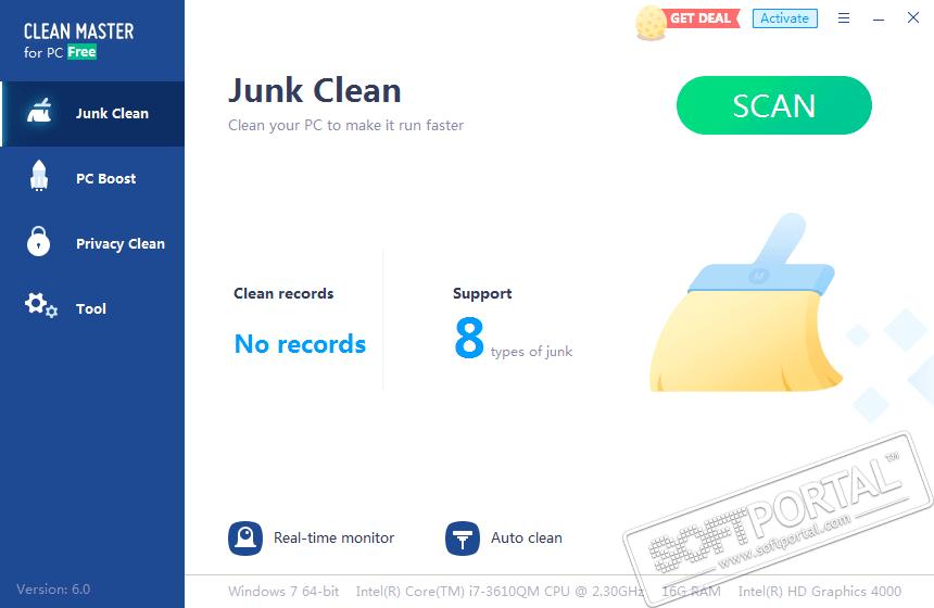 программа для очистки компьютера от мусораclean master