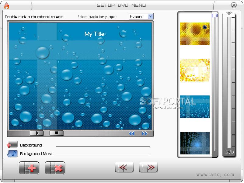 Скачать бесплатно Super DVD Creator - Программа для создания DVD дисков, ор