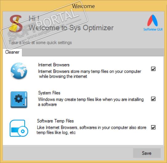 Sys Optimizer