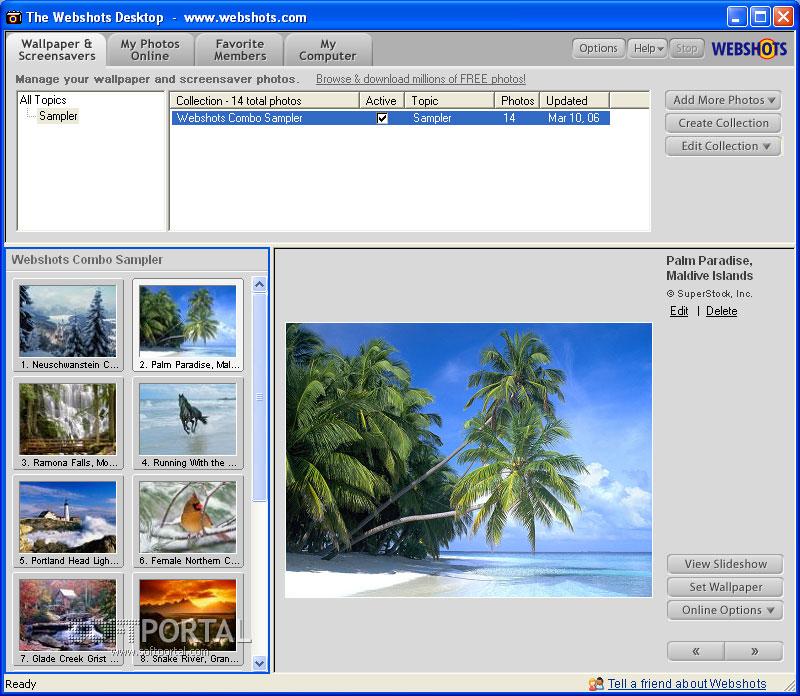 Скачать программу смены картинок рабочего стола