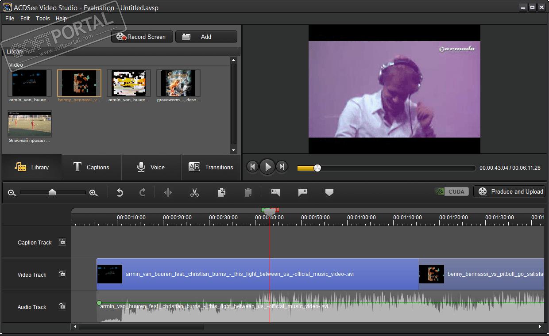 acdsee video studio 2 обзор