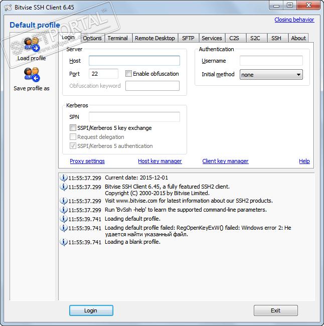 Bitvise Ssh Client скачать