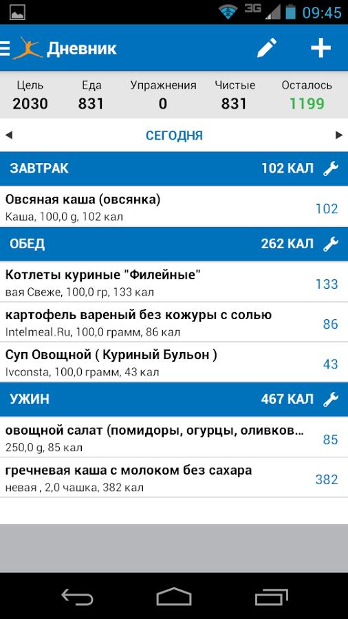 Myfitnesspal скачать бесплатно myfitnesspal 6. 5. 6 для android.