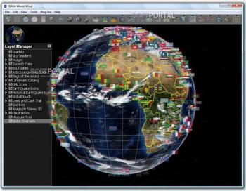Nasa world wind виртуальный глобус